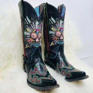 Ariat Gypsy Soule Limited Edition Cowboy boots. 8